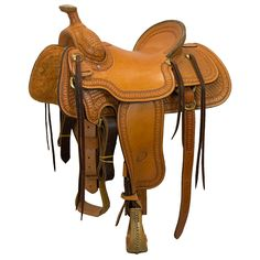 """15.5"""" USED BILLY COOK RANCH SADDLE Roping Saddles, Used Saddles, Saddle Shop, Horse Tack, Ranch, Horses, Cook, Shopping, Guest Ranch"""
