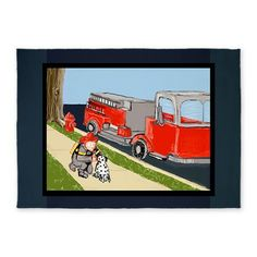@CafePress #sold http://www.cafepress.com/+fire_engine_fireman_dalmatian_5x7_feet_5x7area,1002690815 @Cafe Press $165 5x7 #feet #arearug #fireman #fire #truck #dalmatian #boy #boys #men #guy #firedepartment #firestation #firehydrant