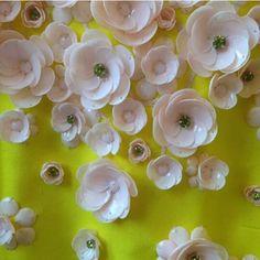 Questi rari scatti dove possiamo osservare da vicino  bellissimi fiori ricamati…