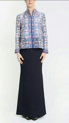 Brocade Kurung Kedah  Kebaya  Baju Kurung  Pinterest  Baju