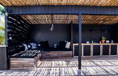 Destination: The Albatross Inn, Byron Bay Outdoor Living Rooms, Outdoor Spaces, Outdoor Decor, Pergola, Backyard Retreat, Outdoor Landscaping, Pool Houses, Outdoor Entertaining, Porches
