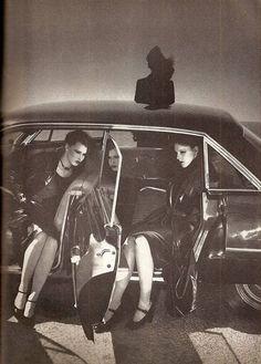 Vogue B Car feature 6 - Guy Bourdin