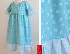 "Festtagskleid ""Lina"" von  katharina-meintke-kids auf DaWanda.com"