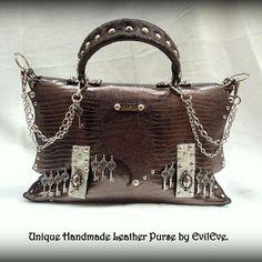 #unique #handmade #leather #purse #by #evileve #for #sale #boutique #evilevedesign #ljubljana #zidovska3 #zidovskaulica #igslovenia #forsale #beautiful #fashion #fashionista #order info@evileve.si Handmade Leather, Leather Bags, Fasion, Boutique, Purses, Instagram Posts, Beautiful, Leather Tote Handbags, Handbags