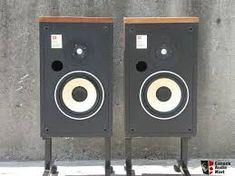 JBL L46 Photo #265762 - Canuck Audio Mart Small Speakers, Bluetooth Speakers, Audio Design, Used Equipment, Speaker Stands, Cool Gear, Sounds Great, Home Cinemas, Loudspeaker