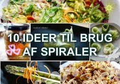 Paleolivet: 10 sjove ideer til brug af spiraler fra Spiralizer...