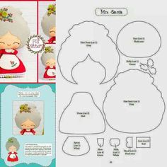 Want to know more about DIY Christmas Projects Christmas Projects, Felt Crafts, Holiday Crafts, Felt Christmas Ornaments, Christmas Fun, Felt Decorations, Christmas Decorations, Felt Doll Patterns, Theme Noel