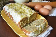 plumcake pistacchio cioccolato bianco
