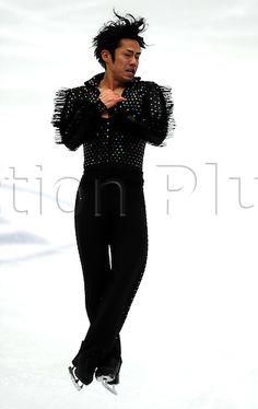 10.12.2010. ISU Junior and Grand Prix of Figure Skating Final,Beijing Capital Gymnasium, Day 2. Picture shows Daisuke Takahashi of Japan skates in the Men Short Program.