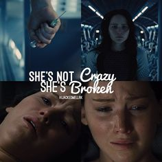 She's not crazy, she's broken.