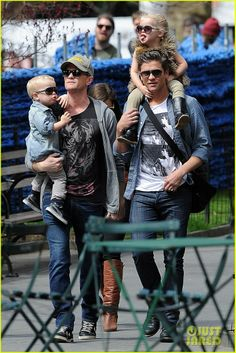 Neil Patrick Harris & David Burtka #Family