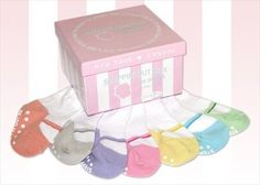 7 Pair of Mary Jane Pastel Toddler Socks 1-2 yrs - by Baby Emporio Baby Emporio. $19.95