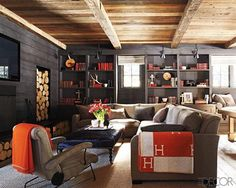 love the colors the textures the order of this room check out bookcase lighting ideas
