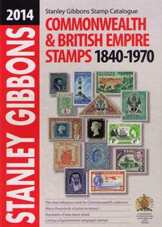 Stanley Gibbons Stamp Catalog 2014: Commonwealth & Empire Stamps 1840-1970 #StanleyGibbons