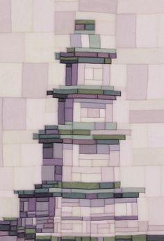 탑을 형상화 시킨 멋스러운 조각보!!! : 네이버 블로그