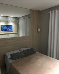 quarto apartamento pequeno.
