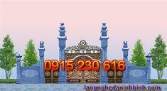 Cổng đá đẹp ở Ninh Bình - Mẫu cổng đá xanh - Cổng đá đẹp giá rẻ Cn Tower, Taj Mahal, Building, Travel, Viajes, Buildings, Destinations, Traveling, Trips