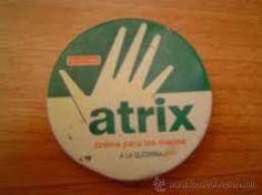 Crema de manos Atrix, en casa no faltaba