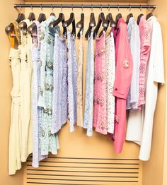Pastels for spring? Groundbreaking (but actually, we want everything. Yesterday.) http://www.thecoveteur.com/malaika-firth/ @Burberry