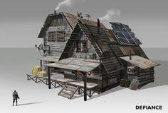 Defiance concept art by Danny Pak.