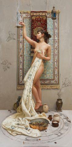 La pintura romanticista de Arantza Martinez | OLDSKULL