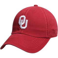 release date: 4a288 15477 Men s Top of the World Crimson Oklahoma Sooners Solid Crew Adjustable Hat