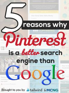 5 Reasons Pinterest's Search Engine is Better than Google's | Tailwind Blog: Pinterest Analytics and Marketing Tips, Pinterest News - Tailwindapp.com