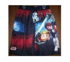 Boys Swim Trunks, Boy Character, Star Wars Characters, Swimsuits, Swimwear, Lego Star Wars, Swim Shorts, Little Boys, Tie Dye Skirt