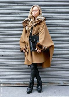 Street Style, Vintage Capes
