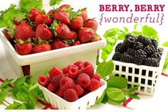 Berry, Berry Wonderful From our Newsletter. Join our List on Facebook @Der Kuchen Laden