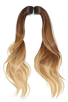 Manga Hair, Anime Hair, Girl Hair Drawing, Pelo Anime, Hair Png, Hair Sketch, Weave Styles, Golden Hair, Hair Reference