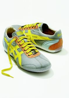 ONITSUKA TIGER X FAILE by Asics - so retro.  Just because I reallyREALLY want these.