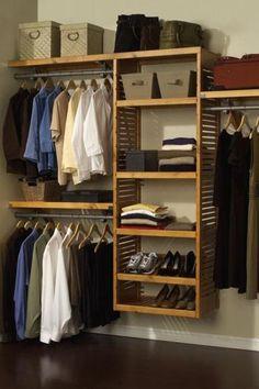 #HomeDecorators Deluxe Walk-In Custom Closet System