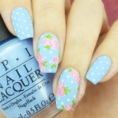 Spring Nail Designs For 2018 That You Will Adore ★ See more: http://glaminati.com/spring-nail-designs-adore/