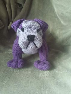 English bulldog pattern