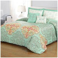 Living Colors™ King 5-Piece Reversible Comforter Sets at Big Lots.