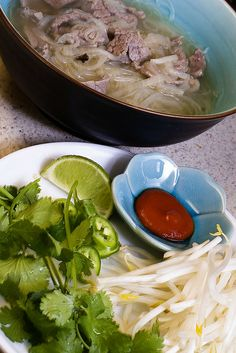 Quick and tasty Pho     ~~~~~     This Pho is extremely quick and produces an intoxicating broth. The anise and cloves with ginger and garlic… they blend beautifully.   This recipe maximizes flavor in short amounts of time, so this Pho even works for a weeknight (if you have the ingredients on hand).