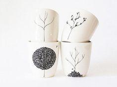 Cómo pintar tazas con rotulador de forma sencilla