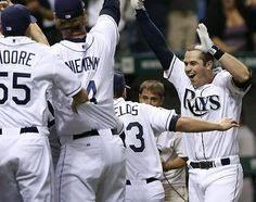 Game 162-2011 season. Rays clinch the wild card. What a night!!!!