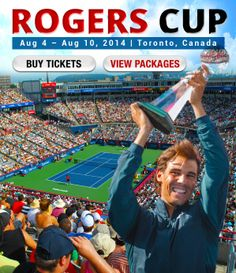 Rogers Cup tickets from $95! #Toronto #RexallCenter #Canada