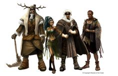 Heroes: Classes and Races Lineup by Concept-Art-House on DeviantArt