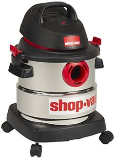 Looking for Shop-Vac 5989400 8 gallon Peak HP Stainless Wet Dry Vacuum, Black ? Check out our picks for the Shop-Vac 5989400 8 gallon Peak HP Stainless Wet Dry Vacuum, Black from the popular stores - all in one. Stainless Steel Canisters, Stainless Steel Tanks, Best Shop Vac, Wet And Dry, How To Clean Carpet, Home Improvement, Woodworking, Vacuum Cleaners, Dry Vacuums
