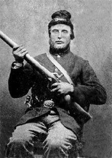 "Peter Hansen, Company A, 15th Wisconsin ""Scandinavian"" Regiment"