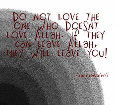 Imam Syafee'i Quote