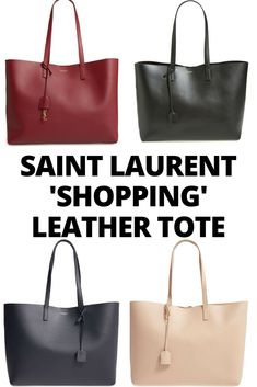 $995  Nordstrom  Saint Laurent 'Shopping' Leather Tote    Women / bags/ accessories / fashion / christmas gift ideas for her