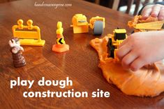 Busy Play: Play Dough Construction Site