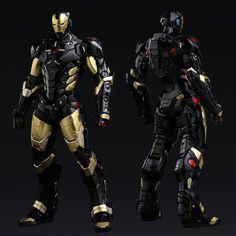Sentinel - Re:Edit - Iron Man #06 Marvel Now! Ver. Black X Gold (Japan Version)↩☾それはすぐに私は行くべきである。 ∑(O_O;) ☕ upload is LG G5/2016.08.25 with ☯''地獄のテロリスト''☯ (о゚д゚о)♂