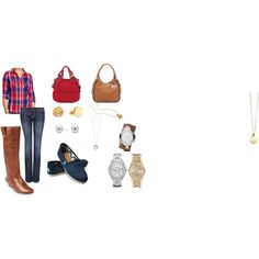 """""""Casual Options"""" by mmaccubbin on Polyvore"""