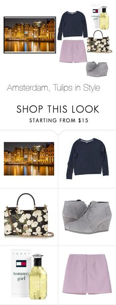 """""""Amsterdam, Tulips in Style"""" by maripan ❤ liked on Polyvore featuring Uniqlo, Dolce&Gabbana, BOBS from Skechers, Tommy Hilfiger, girly, feminine, CasualChic and Amsterdam"""