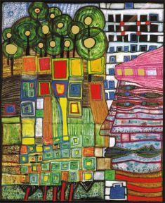 | Friedensreich Hundertwasser